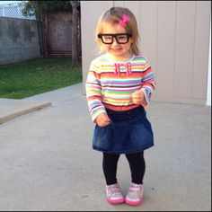 Baby in glasses- so hipster cute