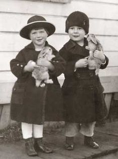 kids with pet rabbits