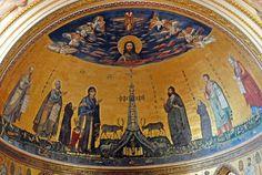 San Giovanni in Laterano, the apse mosaic