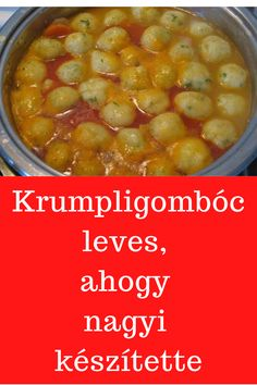 Hungarian Recipes, Chana Masala, Clean Eating, Food And Drink, Soup, Cooking Recipes, Yummy Food, Favorite Recipes, Meat