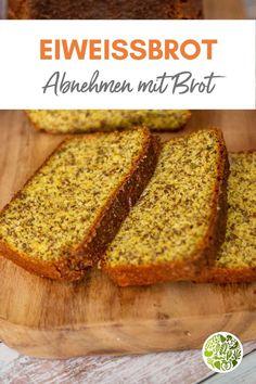 Genussvoll und gesund Brot naschen und dabei abnehmen. Dafür gibt es unser leckeres Eiweißbrot!