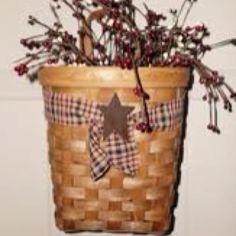 Primitive Baskets   Primitive Basket..