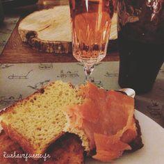 Pain de mie home made saumon champagne rosé