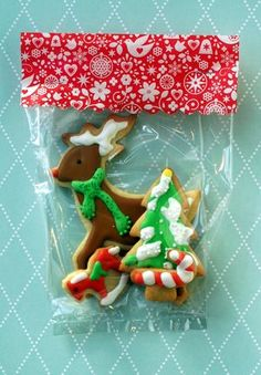 Easy Christmas Cookie Packaging
