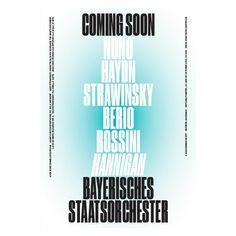 Bayerisches Staatsorchester Season 2016/2017 #bureauborsche #mirkoborsche