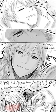 Why do I feel like this is the reaction of every FE:A player and they see the cutscene of Chrom's handsome face looking at them?