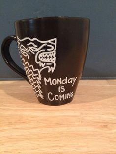 Winter is coming Game of Thrones Mug by aCupofNostalgia on Etsy, $16.00
