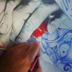 Embedded image permalink Embedded Image Permalink, Watercolor Tattoo, Illustrations, Tattoos, Watercolor Tattoos, Illustration, Irezumi, Tattoo, Tattoo Illustration