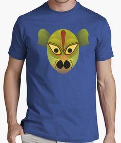 Camiseta Mascara demonio pajaro