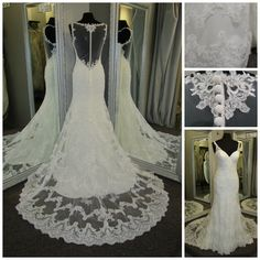illusion back, sweetheart neckline, and awesome cage train