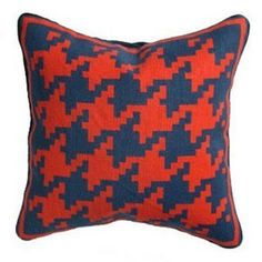 Jonathan Adler- husband of FT fave Simon Doonan-Offers up some amazing throw pillows with large-scale caning and houndstooth patterns-Fashiontribes Home Decor Post