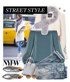 """""""NYFW Street style: Day One"""" by hubunch ❤ liked on Polyvore featuring Kensie, BCBGMAXAZRIA, Barneys New York, J.Crew, Givenchy, Victoria Beckham, Nephora, StreetStyle and NYFW"""