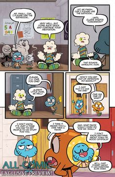 EXCLUSIVE PREVIEW: The Amazing World of Gumball #7,   The Amazing World of Gumball #7  Publisher:KaBOOM!, an imprint of BOOM! Studios Author: Frank Gibson Artist: Tyson Hesse Cover Artists: A. ...,  #All-Comic #BenBocquelet #Boom!Studios #ExclusivePreview #FrankGibson #Preview #THEAMAZINGWORLDOFGUMBALL #TysonHesse