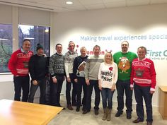 A great shot of our UK & I Board on Friday also showing their support for #ChristmasJumperDay