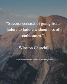 Famous Winston Churchill quotes.