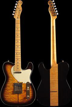 Fender Custom Shop Merle Haggard Signature Telecaster® 2-Color Sunburst (997)