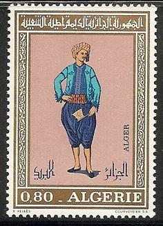 Algeria 468 MNH 1971 80c Regional Costumes - bidStart (item 18919993 in Stamps, Africa, Algeria)