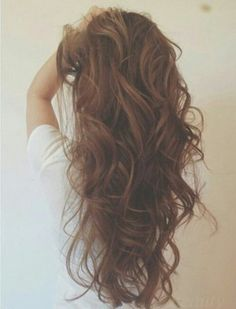Used to have this hair. Inspiration to grow my big hair.Big Hair and Tousled Waves: Your Hair Guide Brown Curly Hair, Messy Hair, Tousled Hair, Black Hair, Great Hair, Awesome Hair, Big Hair, Crazy Hair, Hair Day