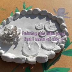 Diy Crafts To Do, Cute Crafts, Arts And Crafts, Clay Art Projects, Ceramics Projects, Polymer Clay Crafts, Diy Clay, Pottery Art, Ceramic Pottery