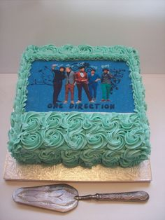 I would never eat this cake unless they were eating it with me. They are so beautiful their faces could be on everything even food and I would just sit and stare.