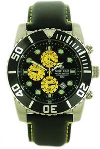 Sartego men's ocean master diver chronograph black dial strap for $186 http://www.mypricehunters.net/servlet/the-921/Men%27s-Ocean-Master-Diver/Detail