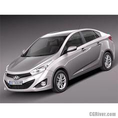 Hyundai HB20S 2013 - 3D Model
