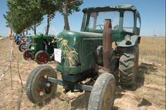 Colección de tractores de Jesús Vara. Lanz.