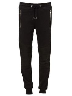 BALMAIN Biker Track Pants. #balmain #cloth #pants