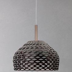 Buy Flos Tatou Pendant, Large, Bronze Online at johnlewis.com