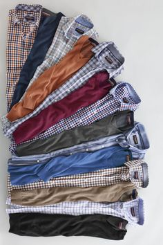 Layer Up: Save on shirts & sweaters to make your winter warmer. Formal Men Outfit, Casual Outfits, Men Casual, Fashion Outfits, Man Dress Design, Gents Shirts, Formal Shirts For Men, Clothing Photography, Fashion Essentials
