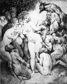 The Art of Norman Lindsay III - art of the beautiful-grotesque