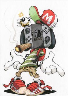 Image of Switch Stance Illustration