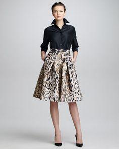 Carolina Herrera #Modest doesn't mean frumpy. #DressingWithDignity #TotalimageInstitute www.colleenhammond.com