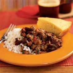 Andouille and Red Beans with Rice | MyRecipes.com