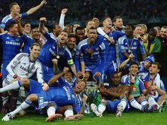 Finally the trophy came home - Chelsea FC Champions League winners 2012