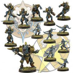 Pack of 13lizardmen miniatures.