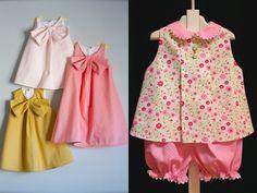 NEBİHAN AKÇA: Kız Bebeklere Elbiseler