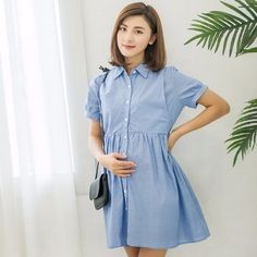 OEM printing breastfeeding clothes maternity pregnancy shirt dress