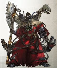 Tech-priest - Warhammer 40K Wiki - Space Marines, Chaos, planets, and more