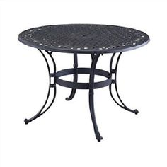 Threshold Camden Metal 48 Round Patio Dining Table Hit The