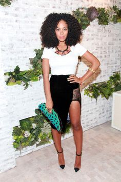 Solange Knowles attends the Splendid Soho Store Opening Hosted By Dylan Lauren