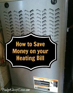 Save on Heating Bill: Change Furnace Filter