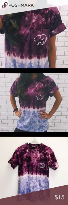 Ivory Ella Rare Tye Die T-Shirt  Beautiful Tye Die T Shirt  Price firm but fare Size: large Ships next daySmoke free pet free homeSome Tye Dye Patterns may not look exactly like photo, some have more pink  If you don't know this brand , they use profits to save elephants Like Comment and Check out my closet  Happy Poshing Ivory Ella  Tops Tees - Short Sleeve