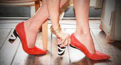 Mix and match you shoes Una diseñadora inventó unos zapatos con tacones que se pueden quitar e intercambiar Buy in this website http://tanyaheathcanada.com/