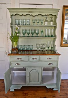 Heir and Space: A Rock Maple Hutch