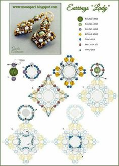Lady, Materials: 8 mm, 6 mm, 4 mm, 4 mm bicone, 11/o, 9/o