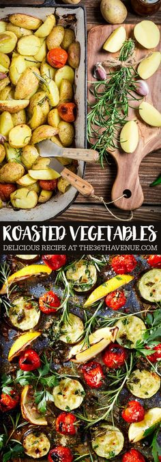 Roasted Vegetable Recipe - Easy side dish recipe.