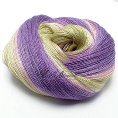 119 gr Gradient Bamboo / Silk Yarn