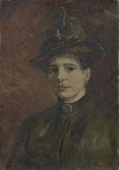 Portrait of a Woman, Vincent van Gogh, Van Gogh Museum, Amsterdam (Vincent van Gogh Foundation), View this artwork Vincent Van Gogh, Artist Van Gogh, Van Gogh Art, Monet, Van Gogh Museum, Art Van, Van Gogh Portraits, Art Gallery, Van Gogh Paintings