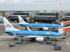 KLM Royal Dutch Airlines AMS Schiphol hub